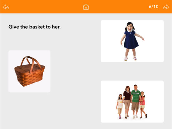 Screenshot #4 for Pronouns by Teach Speech Apps
