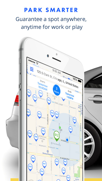 download SpotHero - Find Parking Deals Nearby apps 3