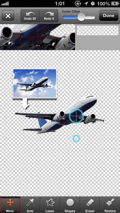 PhotoCut - Superimpose Images & Background Eraser Screenshots