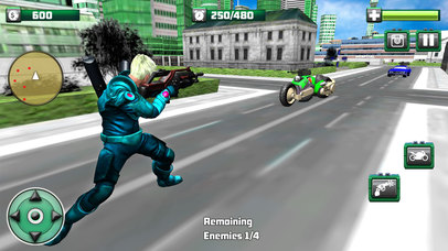 Flying Monster Hero Bike Transformation screenshot 3