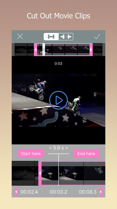 Video Joiner & Trimmer Pro: video merger app Screenshots