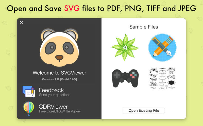 SVGViewer Pro for Mac 1.1 破解版 - SVG图形编辑器
