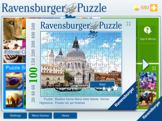 Ravensburger Puzzle - the jigsaw collection Screenshots