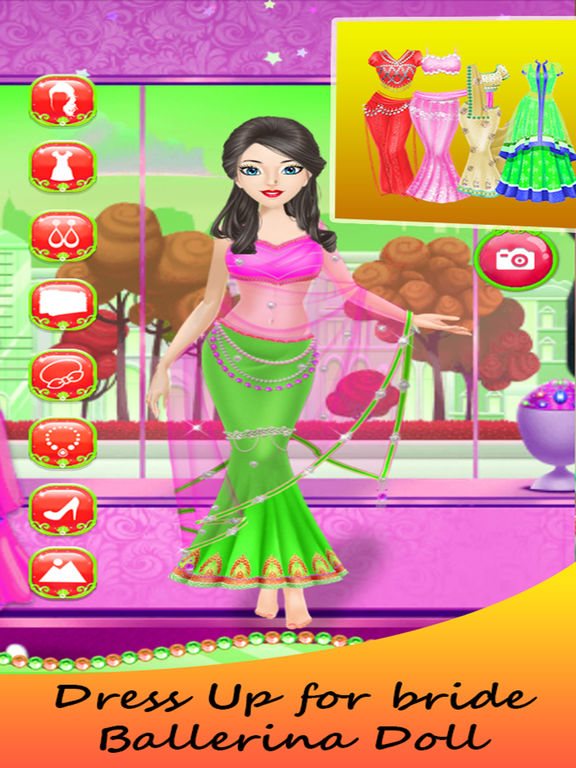 Princess Bride Ballerina Dress Up Girl screenshot 10