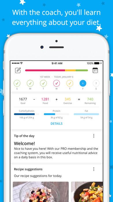 YAZIO - Calorie Counter & Nutrition Tracker screenshot