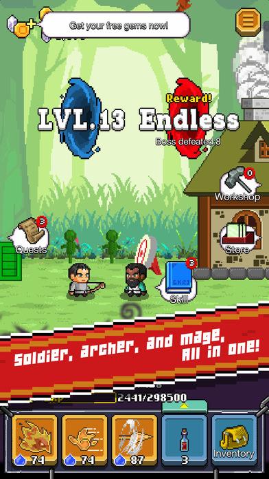 The Mighty Hero screenshot 2