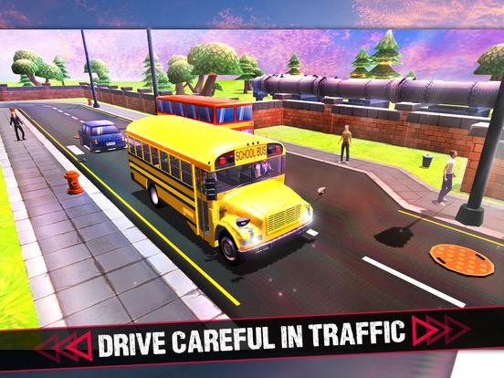School Bus 3D Game screenshot 7