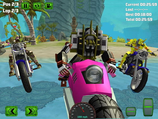 Water Surfing Bike Race screenshot 9