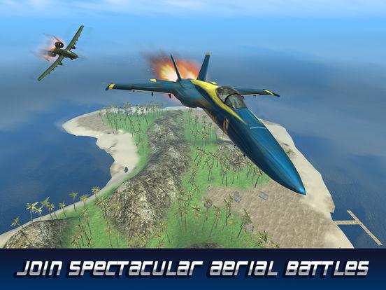 F18 Carrier Airplane Flight Simulator screenshot 5