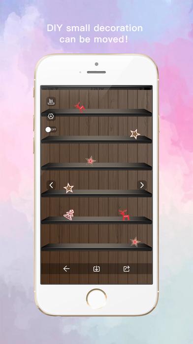 Shelf wallpaper pro custom home screen background app for Wallpaper home pro