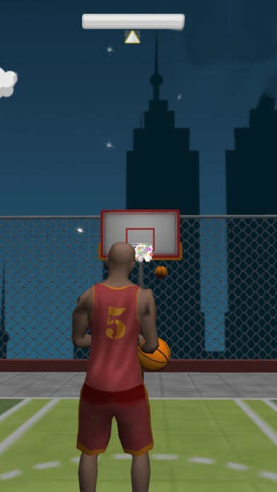 Crazy Rooftop Basketball Match screenshot