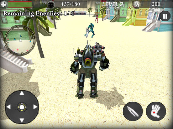 Train Robot Transformation screenshot 7