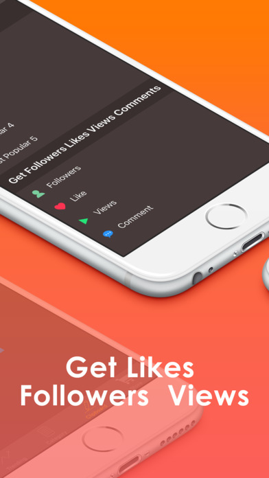 Screenshots of Get Followers & Likes with InstaTags for Instagram for iPhone