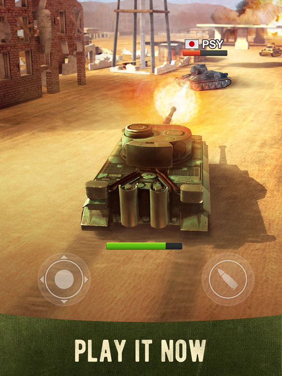 War Machines: 3D Multiplayer Tank Shooting Gamescreeshot 1