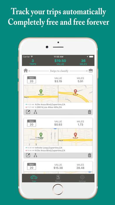free mileage tracker