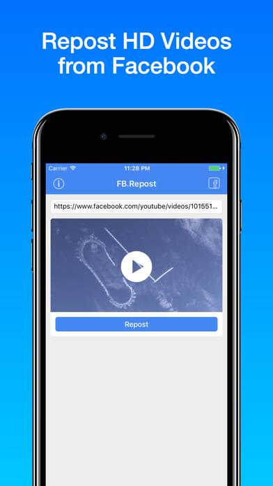 Repost Video screenshot 1
