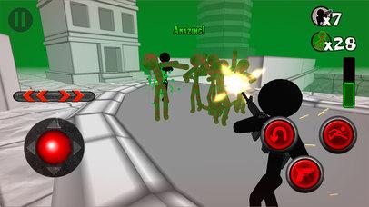 Stickman Zombie 3D screenshot 1