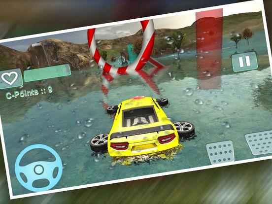 Water Car Stunt Driving Pro screenshot 8