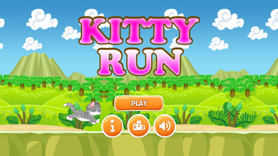 Kitty Run Lite screenshot 1