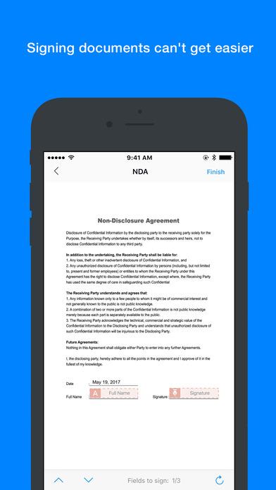 Zoho Sign: Digitally Sign Docs screenshot 2