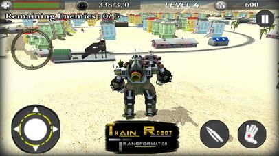 Train Robot Transformation screenshot 1