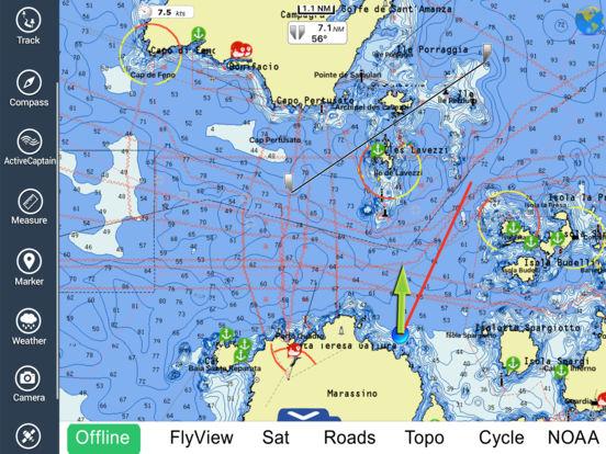 App Shopper Marine Sardinia Hd Gps Map Navigator