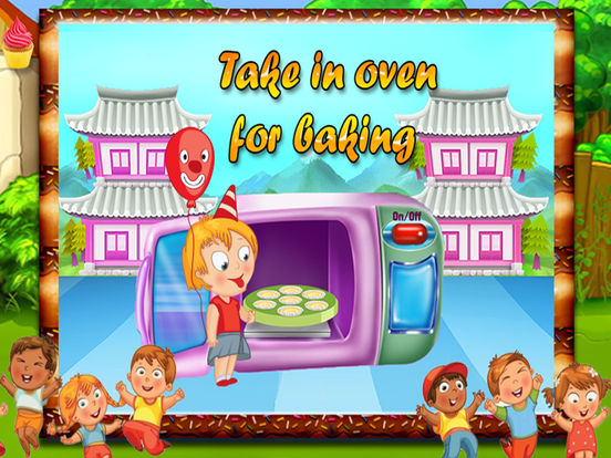 Kids Cup Cake Maker screenshot 9
