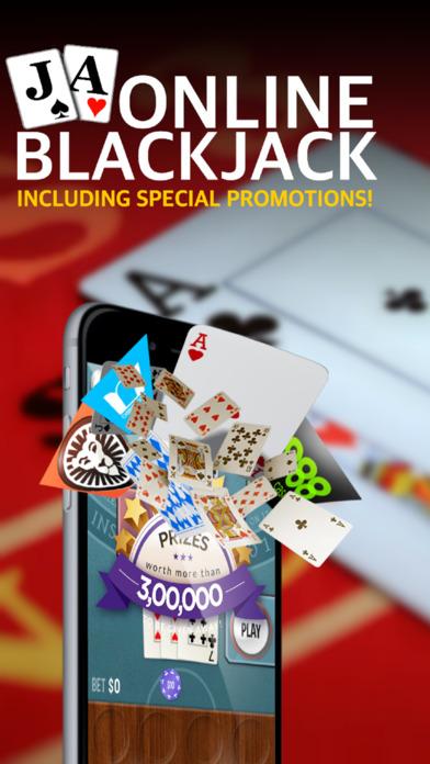 Screenshot 1 Online Blackjack — Best Blackjack App