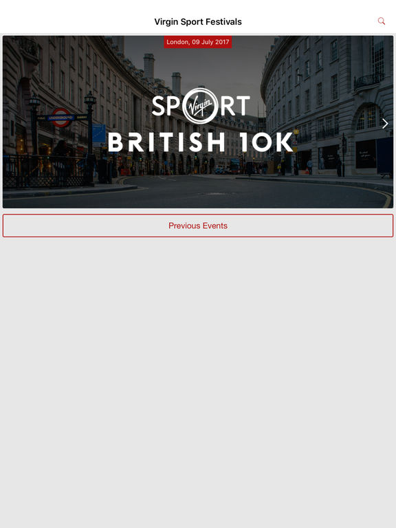 Screenshot #1 for Virgin Sport Festivals