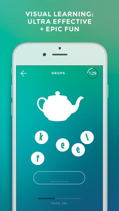 Screenshot #5 for Drops: Learn Japanese, Chinese, Korean, Hebrew etc