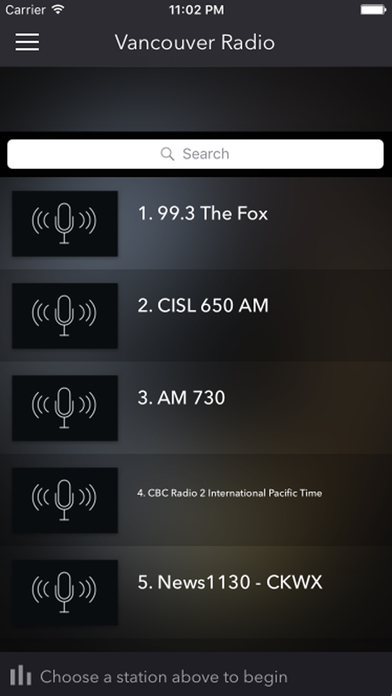 Vancouver Radios - Top Stations Music Player FM AM iPhone Screenshot 1