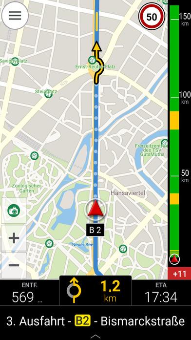 CoPilot DACH - GPS Navigation & Offline Maps Screenshots