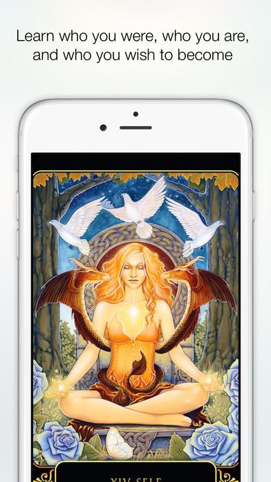 Dreams of Gaia Tarot - Ravynne Phelan Screenshot 2