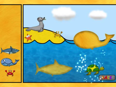 Игры зверушек для детей: Пазлы HD  - полный
