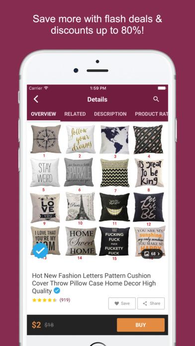iphone screenshot 3 - Home Design And Decor Shopping
