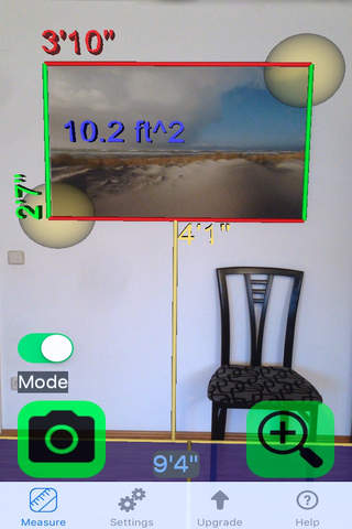 Ruler Camera - Tape Measure 3D screenshot 1