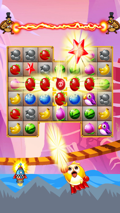 Sweet Fruits & Birds screenshot 3
