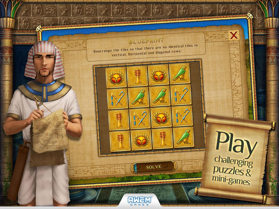 Screenshot #3 for Cradle of Egypt