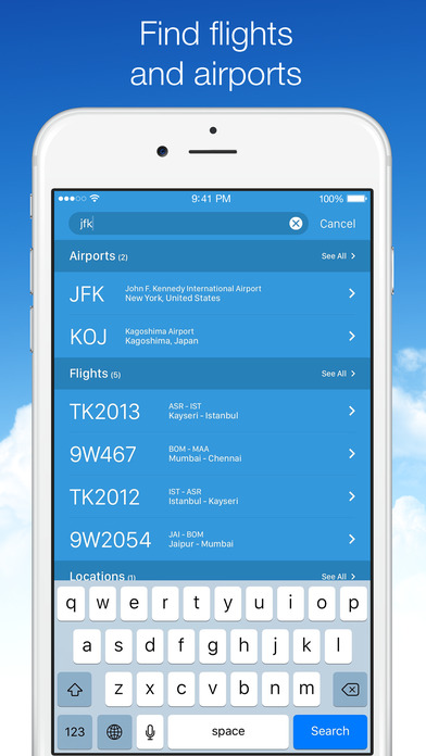 Screenshot #8 for Planes Live - Flight Status Tracker and Radar
