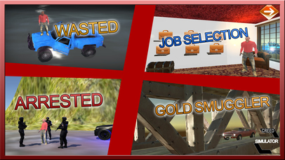 Gold Smuggler And Real Transporter Game screenshot 2