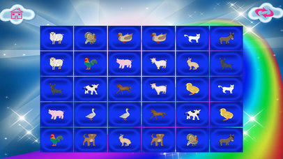 Animals In The Farm Memory Match screenshot 4