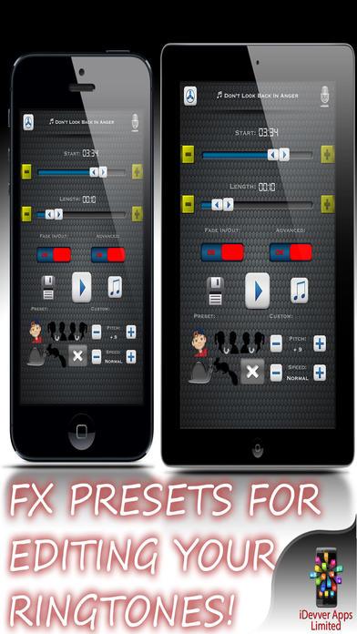 Myringtonecreator ringtone maker design studio app for Blueprint maker app