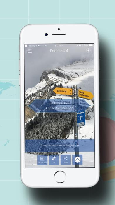 LetzGo Travel Event Countdown screenshot 1