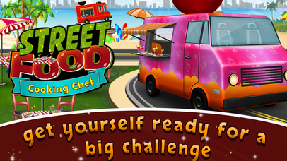 Street Food Cooking Chef Story screenshot 3