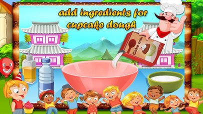 Kids Cup Cake Maker screenshot 3