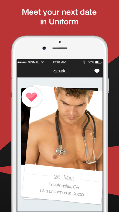 military dating app