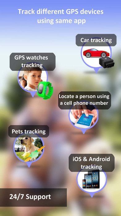 download iMap Find my Phone, Friends, iPhone Family Tracker apps 4