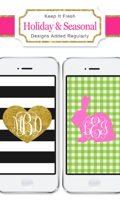 Free Monogram Wallpapers For IPhone Wallpapers