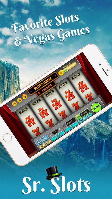 Screenshot 4 Sr. Slots — Favorite Slots & Vegas Games
