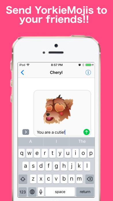YorkieMojis - Emojis for Yorkshire Lovers Screenshot